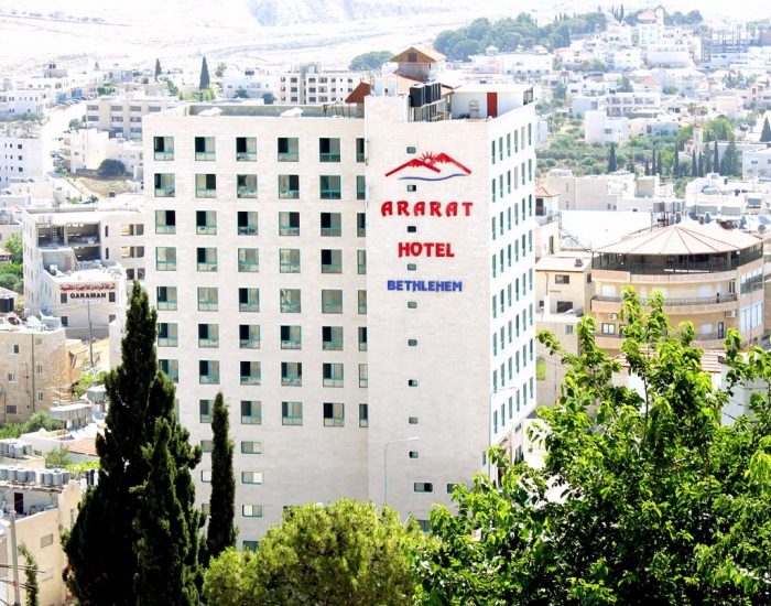 Location Located In The Heart Of Bethlehem Ararat Hotel Is Walking Distance To Church Nativity Milk Grotto Shepherd S Field And Only